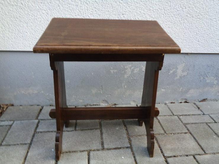 Bild 2: Alte Antike? Massives Gebetsbänkchen/ Schreibtisch ca. 30er Jahre?