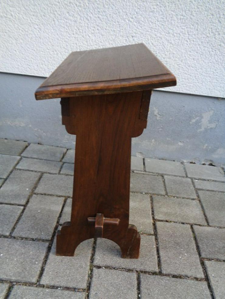 Bild 5: Alte Antike? Massives Gebetsbänkchen/ Schreibtisch ca. 30er Jahre?
