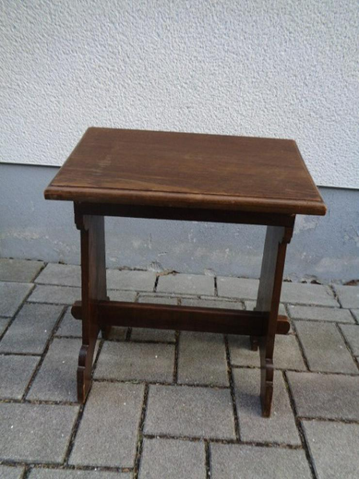 Alte Antike? Massives Gebetsbänkchen/ Schreibtisch ca. 30er Jahre?