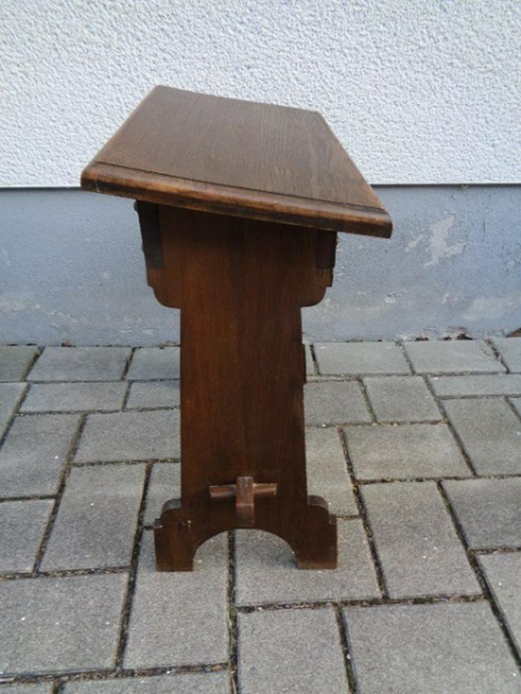 Bild 6: Alte Antike? Massives Gebetsbänkchen/ Schreibtisch ca. 30er Jahre?