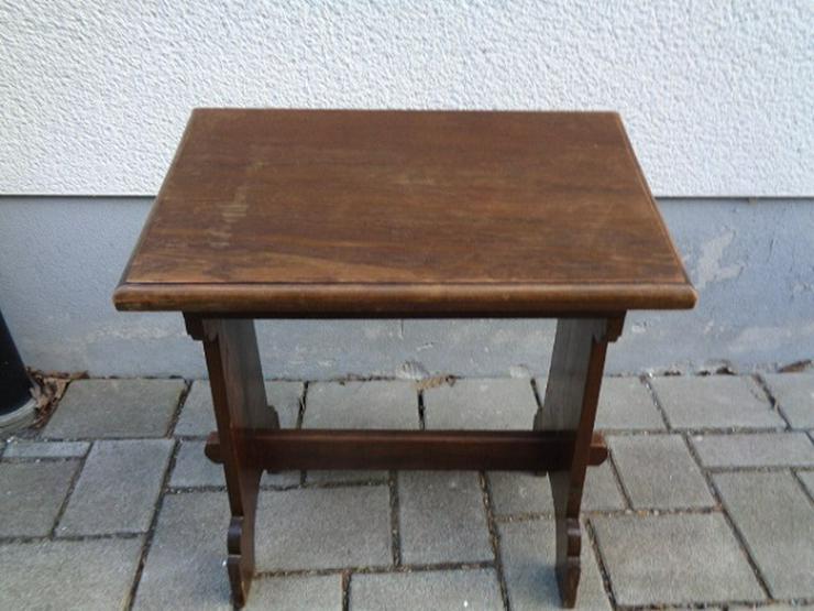 Bild 3: Alte Antike? Massives Gebetsbänkchen/ Schreibtisch ca. 30er Jahre?