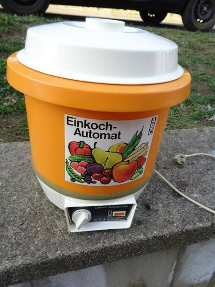 Einkoch - Automat ABC 1700 Watt 24l Einkochtopf