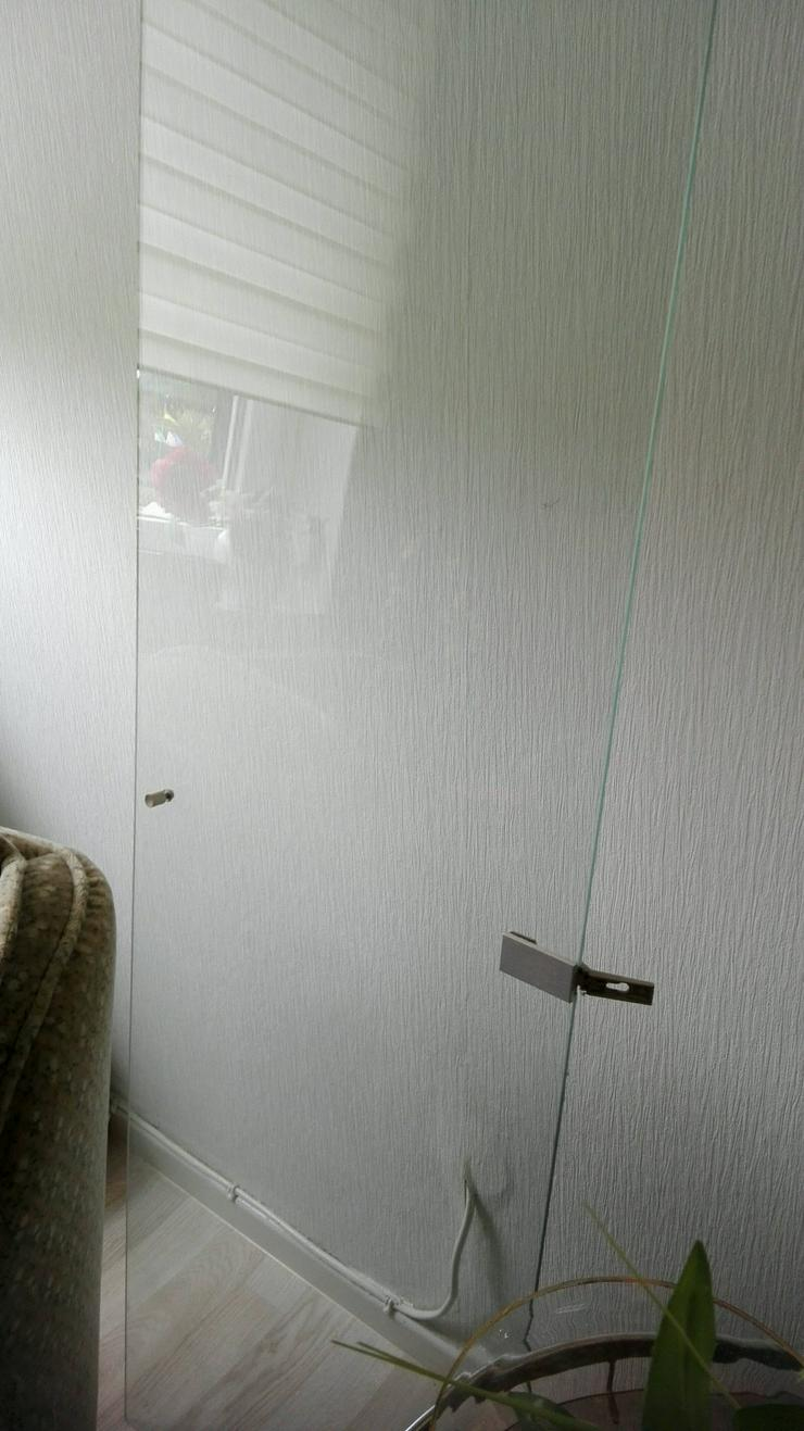 Bild 2: Glastür für einen Schrank