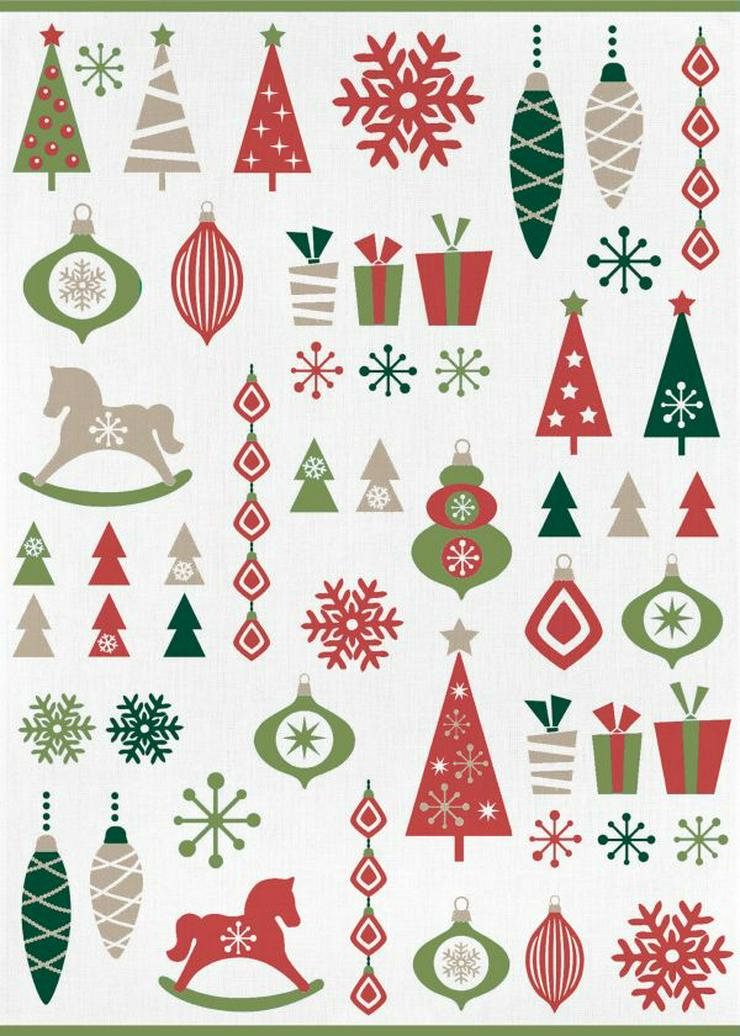 Kracht Geschirrtuch Weihnachtsschmuck