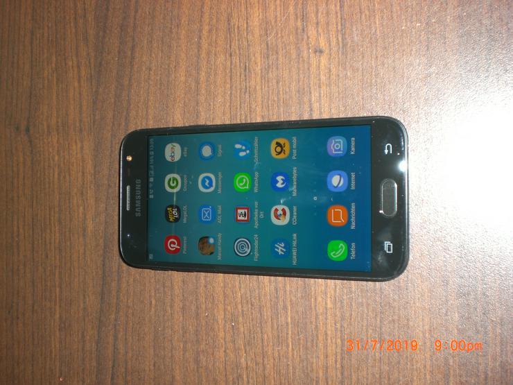 SAMSUNG Smartphone Galaxy J3 DUOS (SM-J330F/DS) Schwarz Handy