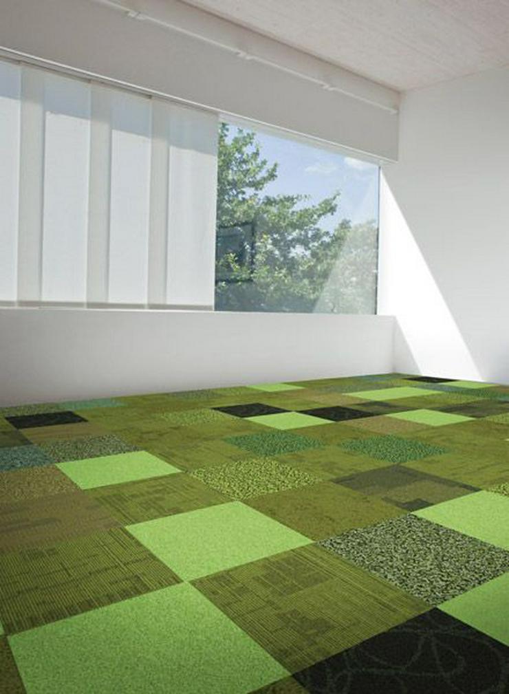 Bild 3: Neuer Trend! Shades of Green Teppichfliesen von Interface