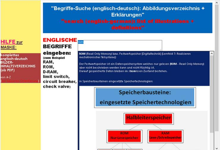 Bild 5: englisch-deutsch BILD-Woerterbuch fuer IT- und Kfz- und Metall- und Elektroberufe