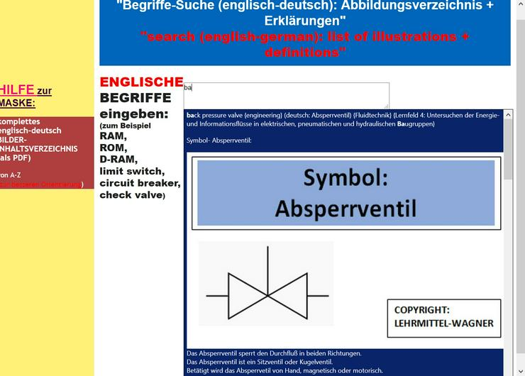 englisch-deutsch BILD-Woerterbuch fuer IT- und Kfz- und Metall- und Elektroberufe