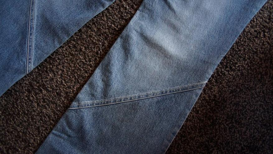 Bild 5: Jeans m. Perlen, Gr. 38L32, Kenny S., stone