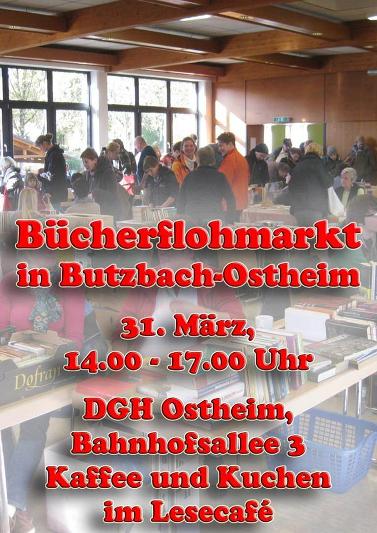 Großer Bücherflohmarkt in Butzbach-Ostheim