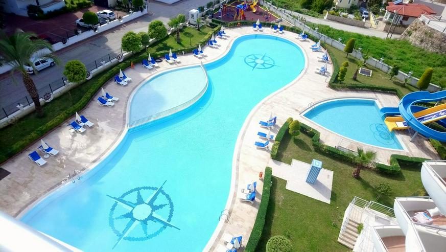 Türkei, Alanya, Budwig, möblierte, 3 Zi. Luxus - Wohnung, Pool, Tennis, uvm. 304 - Ferienwohnung Türkei - Bild 1