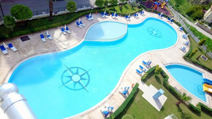 Bild 2: Türkei, Alanya, Budwig, möblierte, 3 Zi. Luxus - Wohnung, Pool, Tennis, uvm. 304