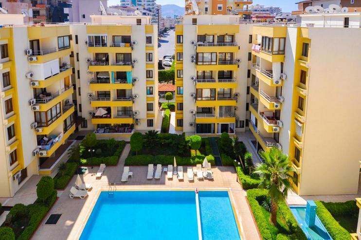 Türkei, Alanya, Budwig, möblierte, renovierte 2 Zi. Wohnung, nur 200 m zum Strand, 302 - Ferienwohnung Türkei - Bild 1