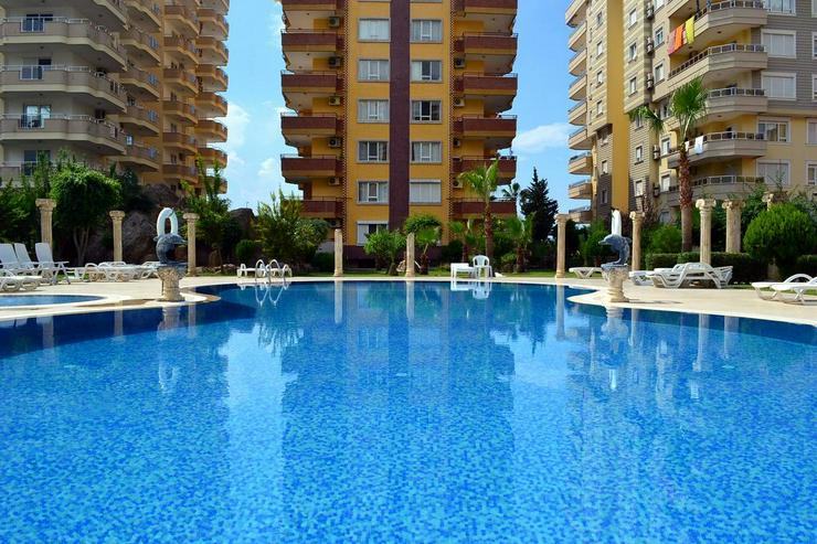 Türkei, Alanya, Budwig, voll möblierte 3 Zi.  Wohnung, direkt am Strand, 301