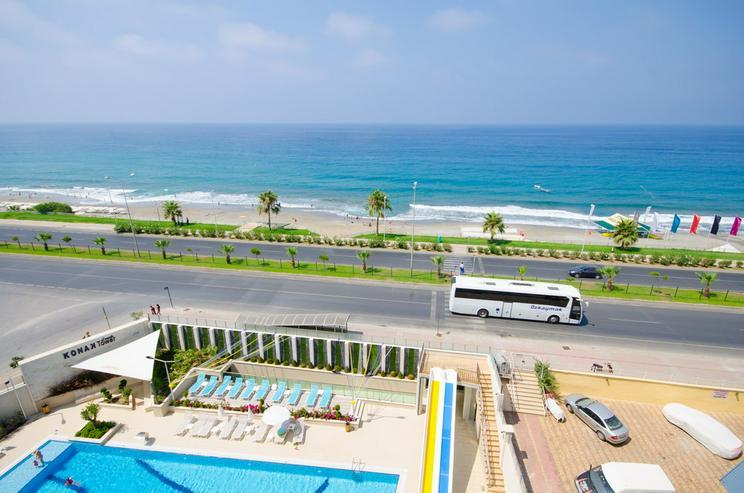Türkei, Alanya, Budwig, Luxus der Superlative ! 1. Reihe am Strand, 295
