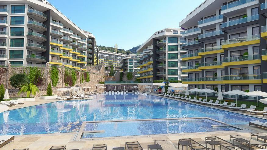 Bild 2: Türkei, Alanya, Budwig, Luxus der Superlative ! Wohnanlage, direkt am Strand, 294