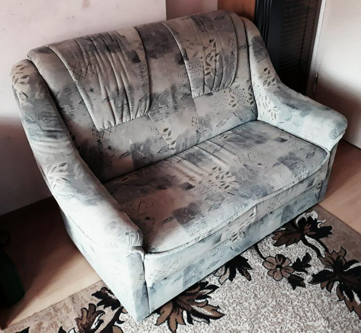 Bild 2: Sofa 1 und 2 Sitzen zu verkaufen