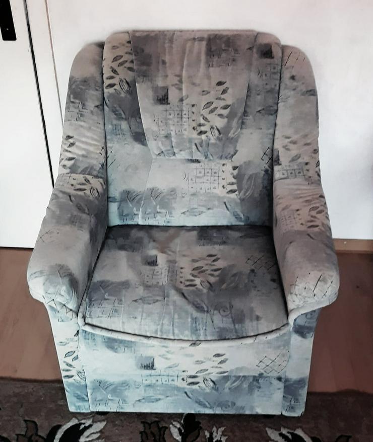 Bild 3: Sofa 1 und 2 Sitzen zu verkaufen