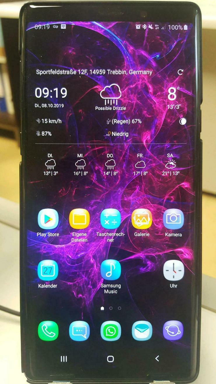 Samsung Galaxy Note 9 (1.Jahr Alt + Garantie + UmtauschServices)