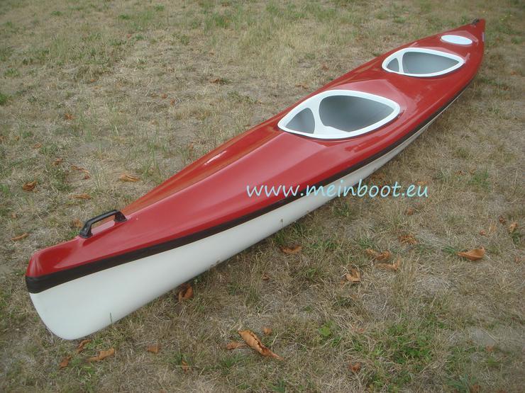 2er Kajak 525 Neu ! in rot /weiß