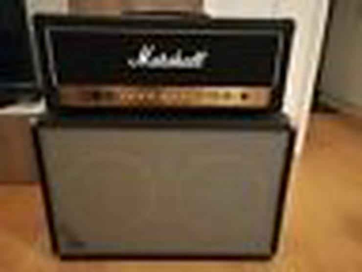 Marshall DSL 100H Verstärker, Fender Bandmaster VM 212 Boxen