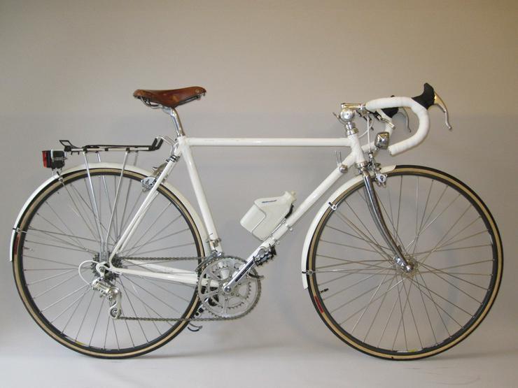 Für Liebhaberin: Vintage-Rennrad