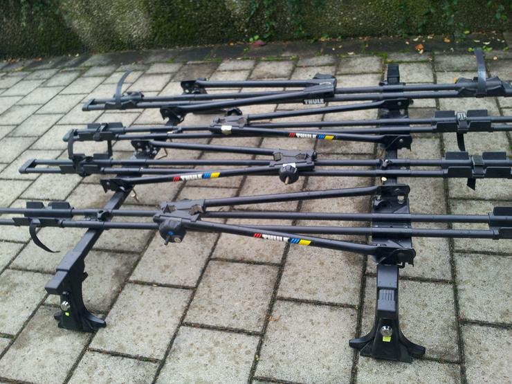 Bild 2: Dachträger für 4 Fahrräder von Thule