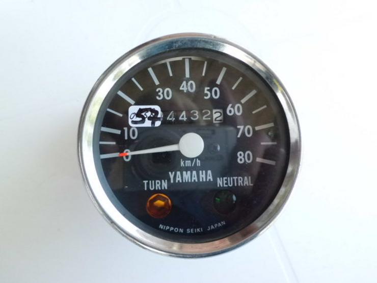 Yamaha-Tacho´s, verchromt, - Lenker, Griffe & Cockpit - Bild 1