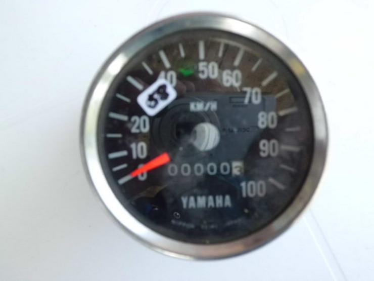 Bild 2: Yamaha-Tacho´s, verchromt,