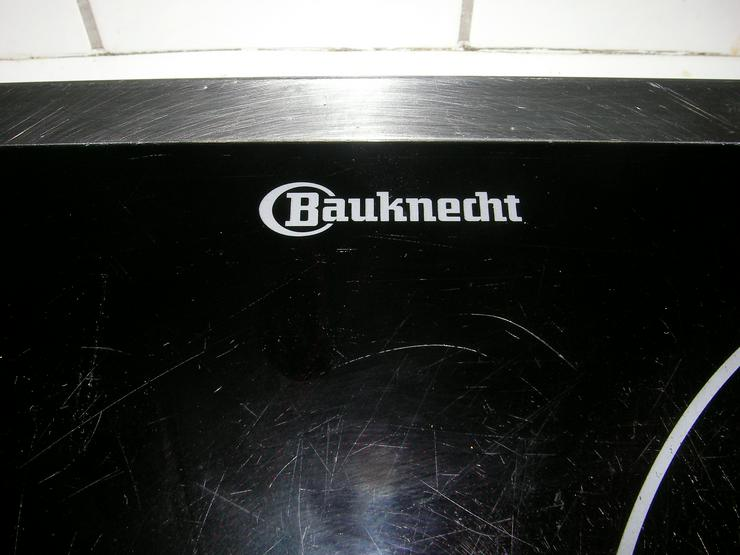 Bild 2: BAUKNECHT Ceranfeld , gebraucht , gut erhalten