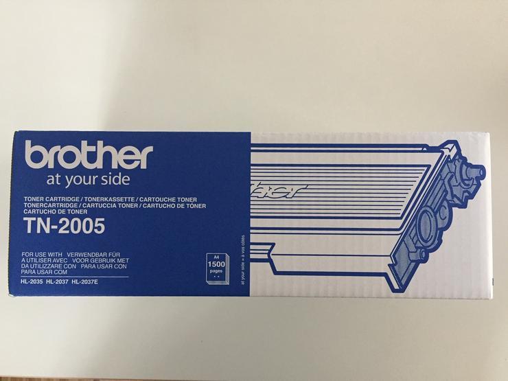 BROTHER Toner TN-2005 Schwarz - Toner, Druckerpatronen & Papier - Bild 1
