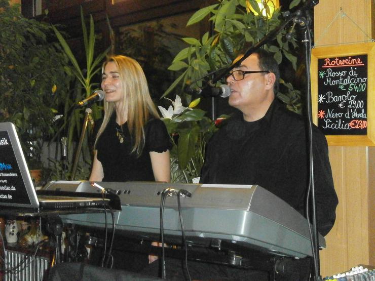 ITALIENISCHE BAND ITALIANO LIVE MUSIK DUO TUTTO MUSICA DUO CIAO
