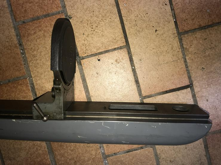 Bild 3: Gegenhalter, Gegenlager, Lupe und Zentrierspitze zum Original Deckel-Teilkopf (FP1 und FP2)