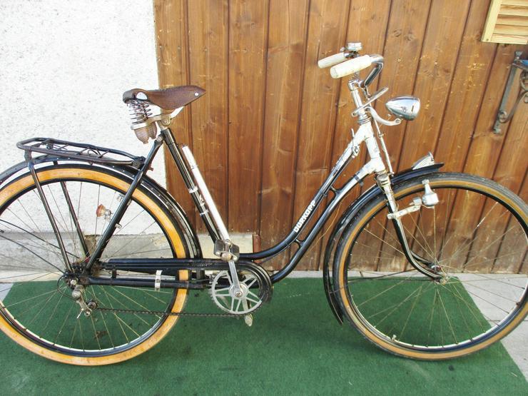 Oldtimerfahrrad Damenrad Dürkopp 28 Zoll 3 Gang Versand - Citybikes, Hollandräder & Cruiser - Bild 1