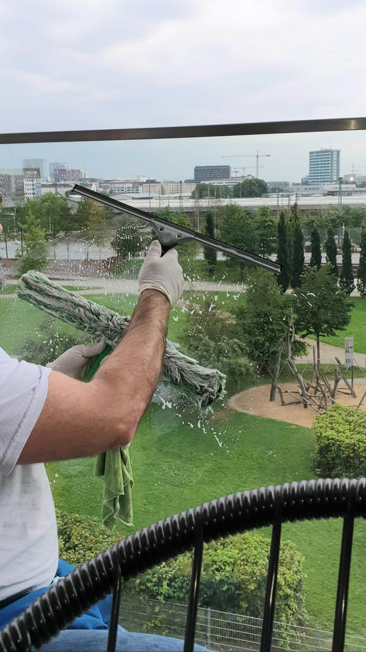 Bild 4: Fensterputzer Hamburg Fensterreinigung Glasreinigung Gartenpflege