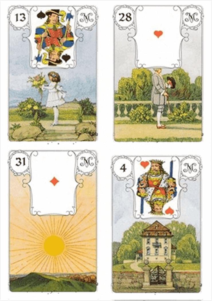 Ausbildung Kartenlegen mit Lenormandkarten Fernstudium / Selbststudium