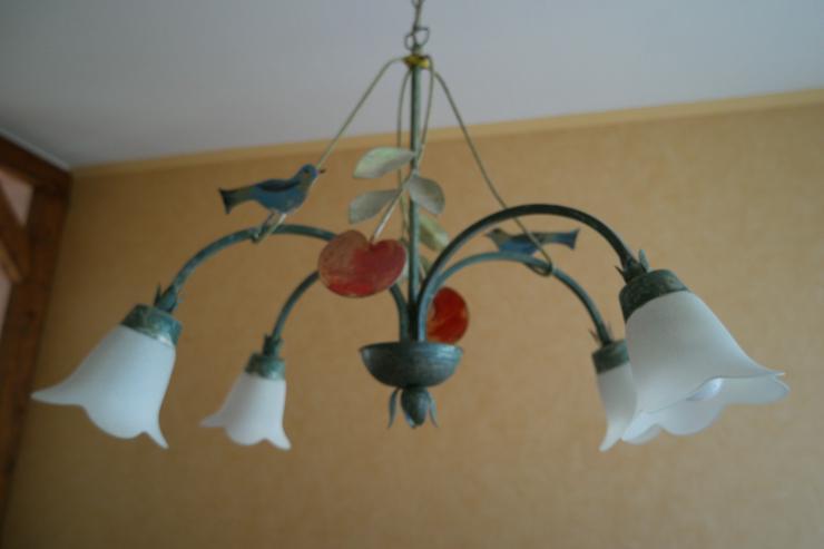 Spanische (Esszimmer-) Lampe