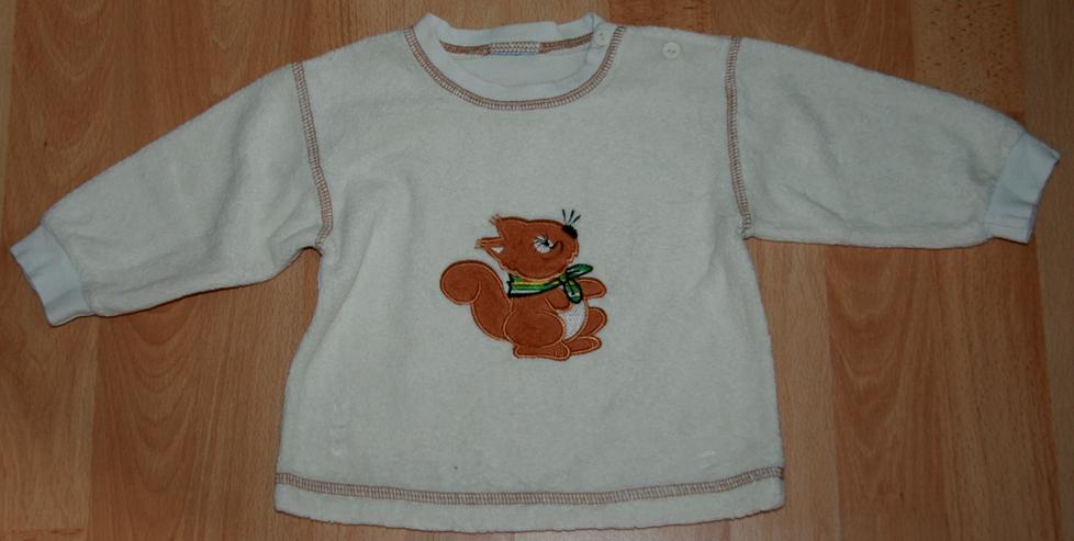 """Bild 3: SET - Sweat-Shirt & Hose - Größe 68 - 2teilig - """"Eichhörnchen"""""""