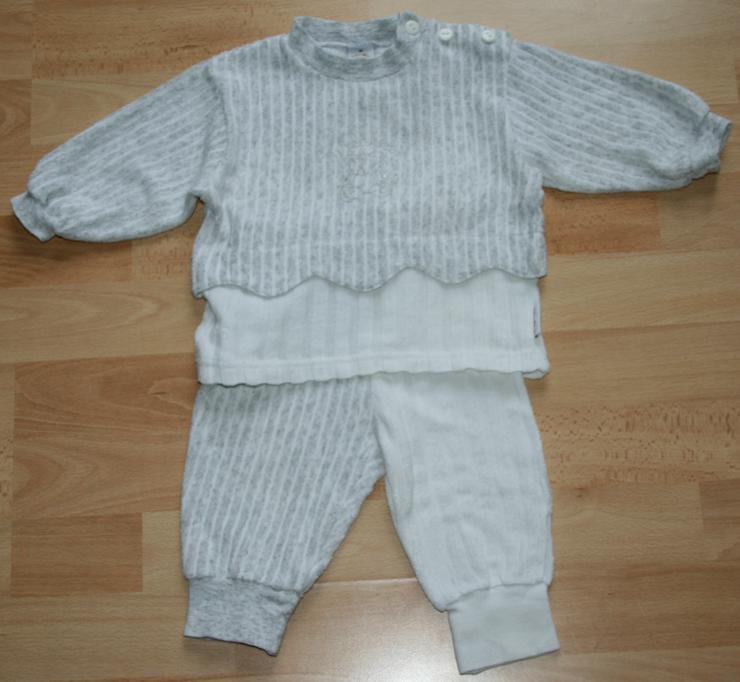 Bild 2: SET - Sweat-Shirt & Hose - Größe 68 - Freizeit-Anzug - 2teilig