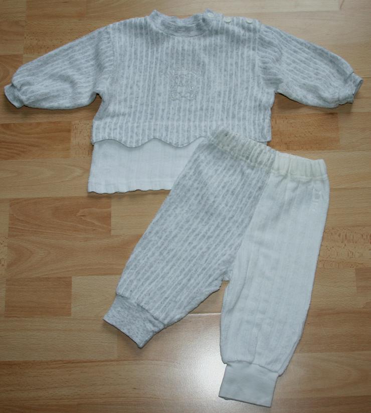 SET - Sweat-Shirt & Hose - Größe 68 - Freizeit-Anzug - 2teilig - Kleidungspakete & Sets - Bild 1