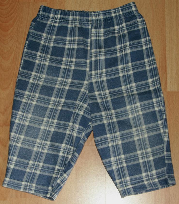 """Bild 4: SET - Blaues Sweatshirt & Hose - Größe 68 - 2teilig - """"Bären"""""""