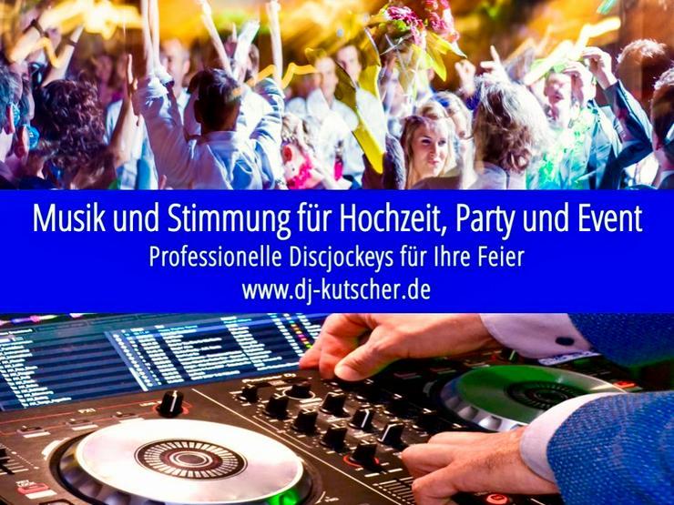 Stilvoller DJ für Hochzeit, Geburtstag, Party, Feier in München und Umland - Agenturen, Personal & Dienstleistungen - Bild 1