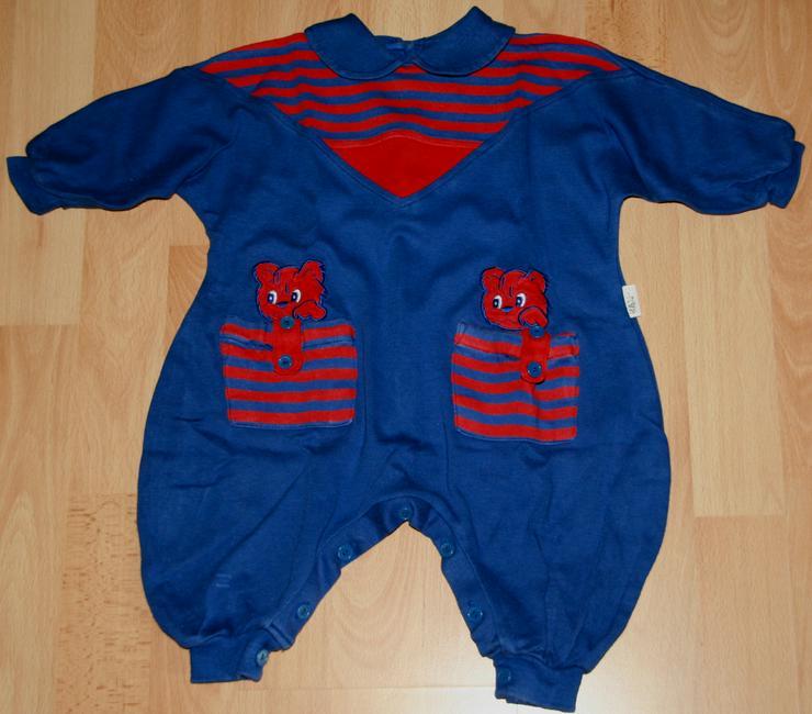Blauer Strampler - Größe 68 - Strampel-Anzug - Overall - von KANZ