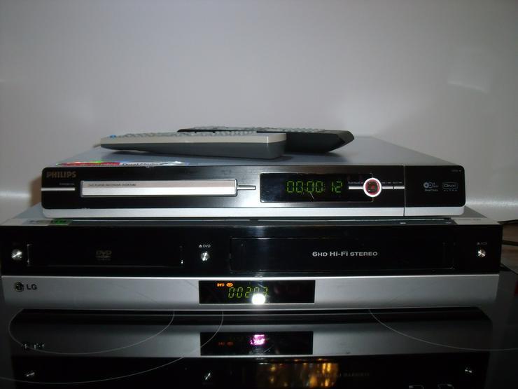 DVD / VHS-Rekorder HDMI von LG V192H mit FB wie neu + DVD Rekord