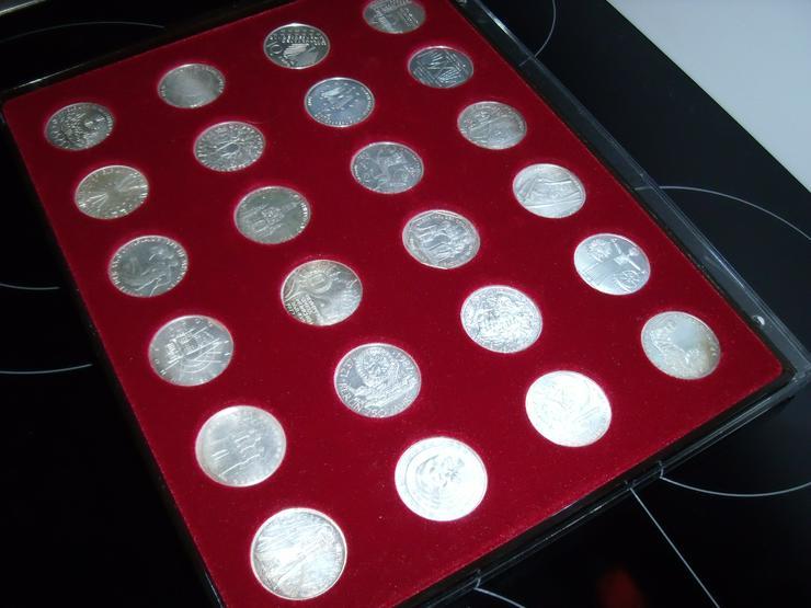 Bild 10: 10 DM 24 + 2 st 10 euro stück Gedenkmünze Verschiedene Silber.