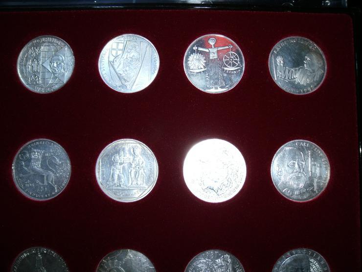 Bild 3: 10 DM 24 + 2 st 10 euro stück Gedenkmünze Verschiedene Silber.