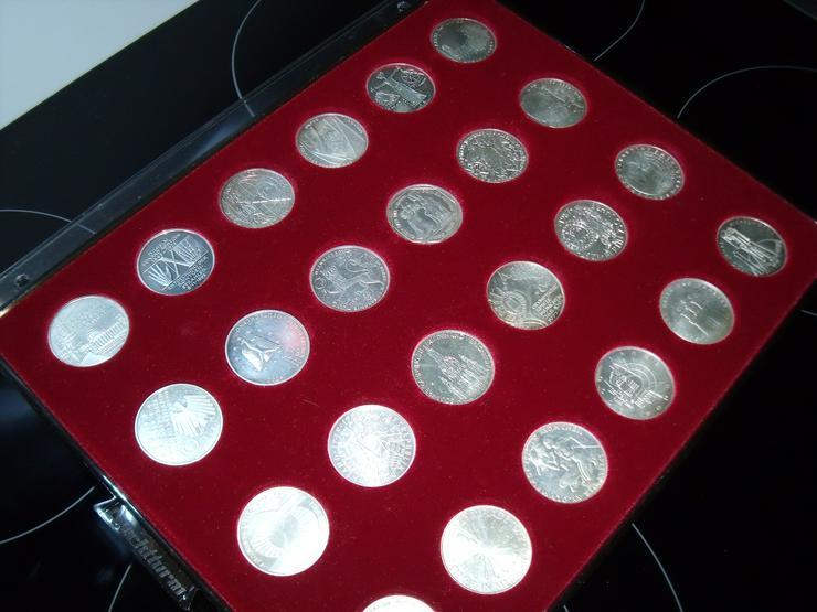Bild 9: 10 DM 24 + 2 st 10 euro stück Gedenkmünze Verschiedene Silber.