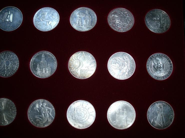 Bild 4: 10 DM 24 + 2 st 10 euro stück Gedenkmünze Verschiedene Silber.