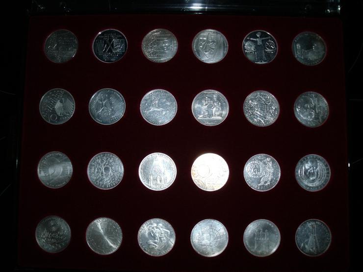 Bild 8: 10 DM 24 + 2 st 10 euro stück Gedenkmünze Verschiedene Silber.