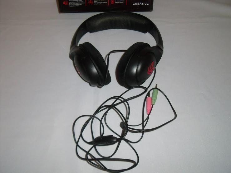 Bild 3: Kopfhörer Stereo 2 Stück, mit  karton.